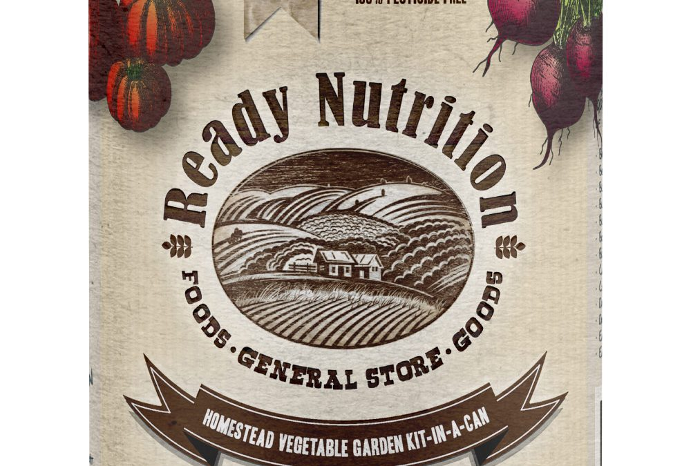 The Ready Nutrition™ Brand Vegetable Garden-In-A-Can
